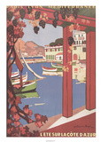 Cote d&#39;Azur Poster