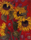 Sunflowers II Art by Shari White