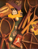 Tennis Posters by Michael Harrison