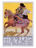 Sevilla,1934 Reproduction procédé giclée