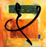 Moved By the Music VIII Plakat af Alfred Gockel