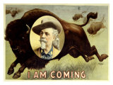 Buffalo Bill's Wild West, I Am Coming Giclee Print