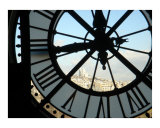Musee d'Orsay Clock Photographic Print by Sadie Jernigan