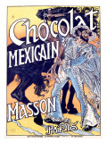 Chocolat Mexicain, Masson Giclee Print by Eugene Grasset