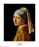 Girl with a Pearl Earring, c.1665 Poster af Jan Vermeer