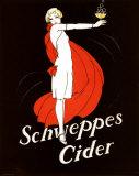 Schweppes Cider Plakater