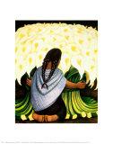 The Flower Seller, c.1942 Kunst van Rivera, Diego