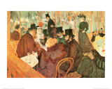Le Moulin Rouge Art Print by Henri de Toulouse-Lautrec