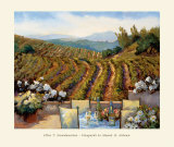 Vineyards to Mount St. Helena Posters by Ellie Freudenstein