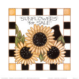 Sunflowers Posters by Joy Marie Heimsoth
