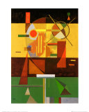 Zersetzte Spannung Print by Wassily Kandinsky