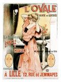 L'Ovale Giclee Print by Henri Gray