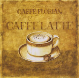 Caffe' Latte Prints by Herve Libaud