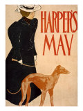Harper's Bazaar, Greyhound Giclee Print by Edward Penfield