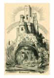 Motifs from Rheingold, Art Print