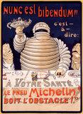 Le Pneu Michelin, Nunc Est Bibendum Giclee Print