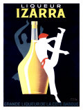 Liqueur Izarra Giclée-tryk af Paul Colin