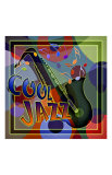 Cool Jazz Music Giclee Print