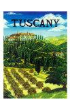 Tuscany Italy Giclee Print by Caroline Haliday