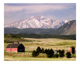 Pikes Peak Photographic Print by Vic Harshberger