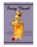 Fuzzy Navel Cocktail Giclee Print