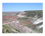 Painted Desert Photographic Print by Mary Lane