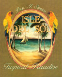 Isle del Sol Poster by Catherine Jones