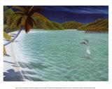 Trunk Bay Kunst af Dan Mackin