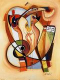 Alfred Gockel - Divoká party II Umělecké plakáty