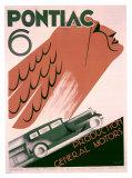 Pontiac 6 Giclee Print by  Greif