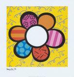 Puissance des fleurs I Affiches par Romero Britto