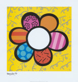 Flower Power I Posters by Romero Britto