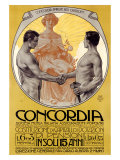 Concordia Giclee Print by Leopoldo Metlicovitz