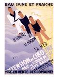 Extension de Ciboure Giclee Print by Francis Bernard