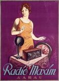 Radio Maxim Giclee Print by  Ernst