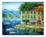Le Port Giclee Print by Marilyn Bast Dunlap