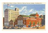 Rhode Island School of Design, Providence, Art Print