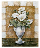 Vase of Callas Posters by A. Da Costa