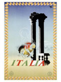 Italy Giclee Print