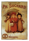Choclat Ph. Suchard Posters