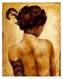 Sarah Prints by Robert Delpomdor