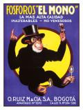 Fosforos, El Mono Giclee Print