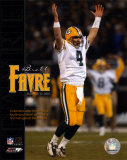 Brett Favre - 4 first half TD passes vs Raiders, 12/22/03 Photo