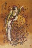 Goddess of Wealth Plakater