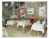 Interior of a Restaurant Prints by Vincent van Gogh
