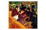 En el Moulin Rouge Lámina giclée por Henri de Toulouse-Lautrec