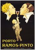Porto Ramos-Pinto Posters by Ren&#233; Vincent
