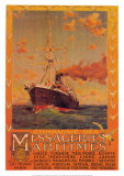 Cie Des Messageries Maritime Prints