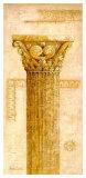 Sepia Column Study IV Prints by Javier Fuentes