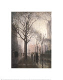Plaza After the Rain Posters by Paul Cornoyer